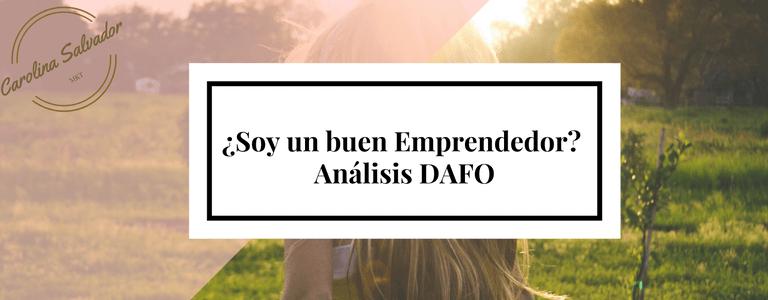 analisis matriz DAFO