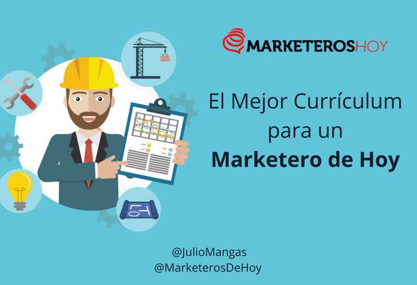 El mejor formato de Currículum para un Marketero de Hoy