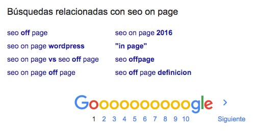 consejos seo optimizacion on page
