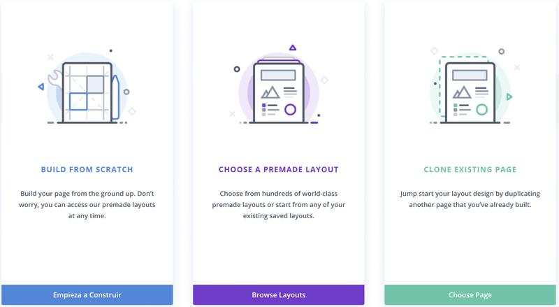 ¿Cómo crear una página en Divi?