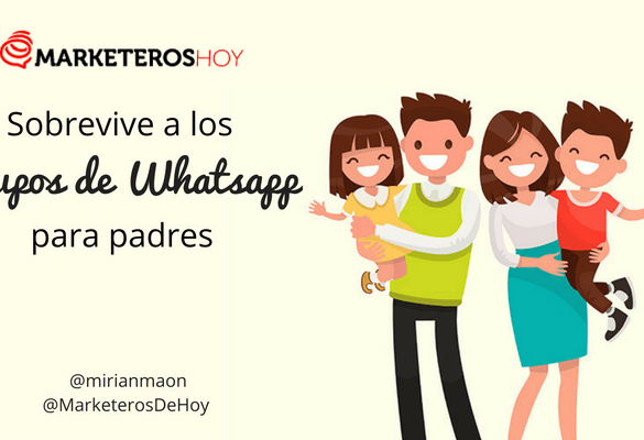 Sobrevive a los grupos de Whatsapp para padres: Consejos y normas
