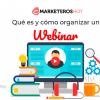webinar Qué es y cómo organizarlo