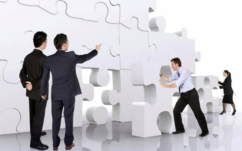construyendo relaciones en la empresa