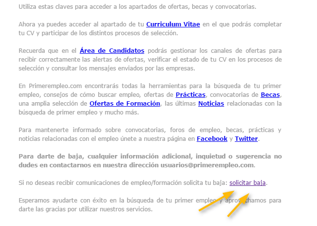 error-baja-email-marketing