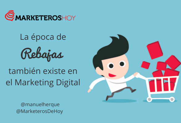 rebajas en marketing
