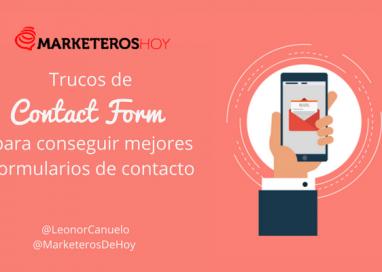 Consigue mejores formularios: trucos de Contact Form 7