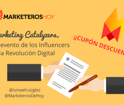 Marketing Catalyzers, el gran evento de la Revolución Digital + ¡CUPÓN DESCUENTO!