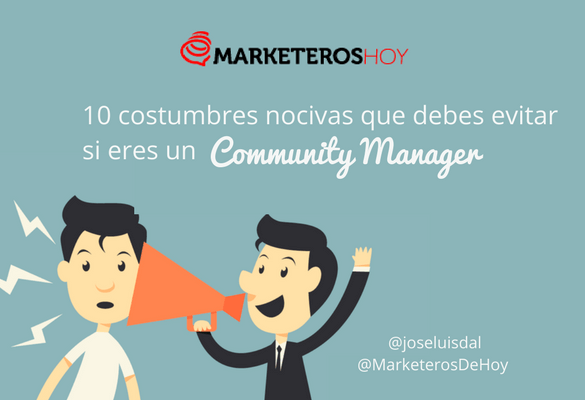 costumbres community manager