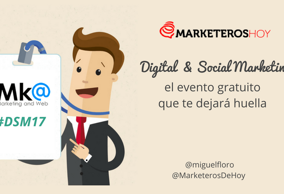 "Congreso ""Digital & Social Marketing"", el evento gratuito que te dejará huella"