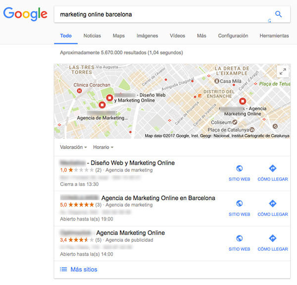consejos seo trafico web local