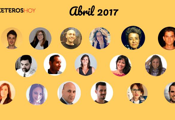 Marketeros de Hoy: Marketing Digital y Social Media en abril
