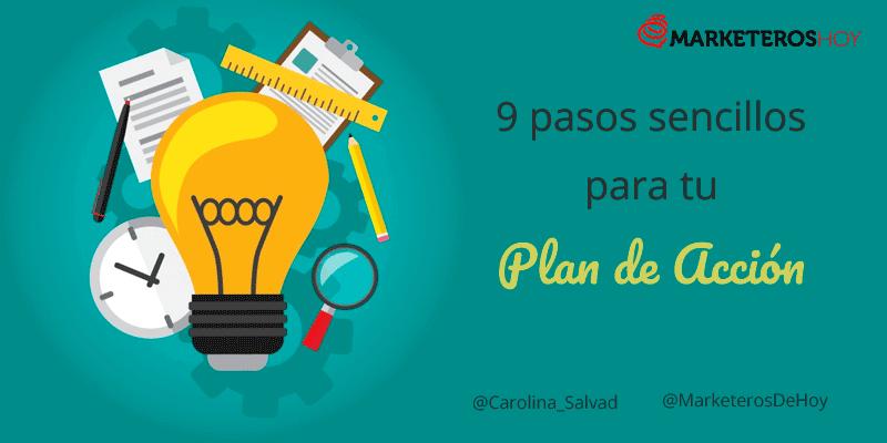 9 pasos para elaborar un Plan de Acción exitoso y sencillo