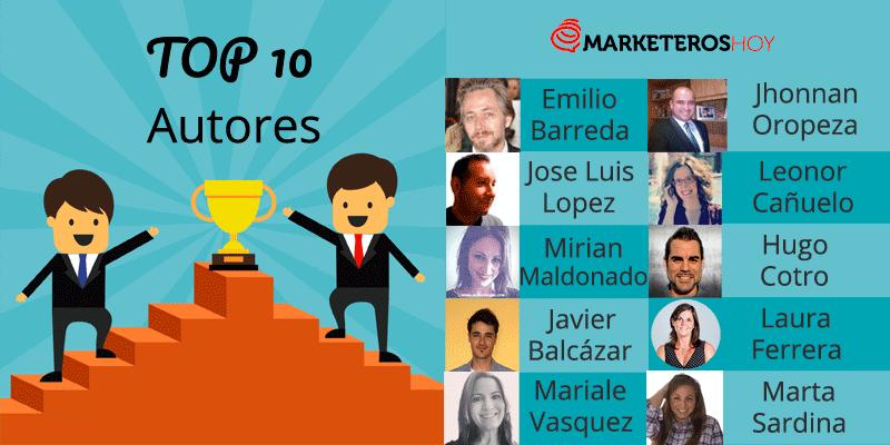 mejores autores revista marketeros de hoy