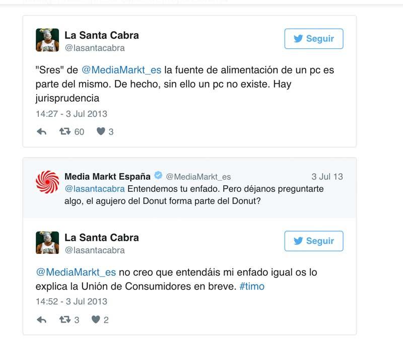 tono de comunicacion de mediamarkt