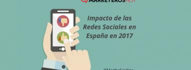 impacto redes sociales en españa 2017