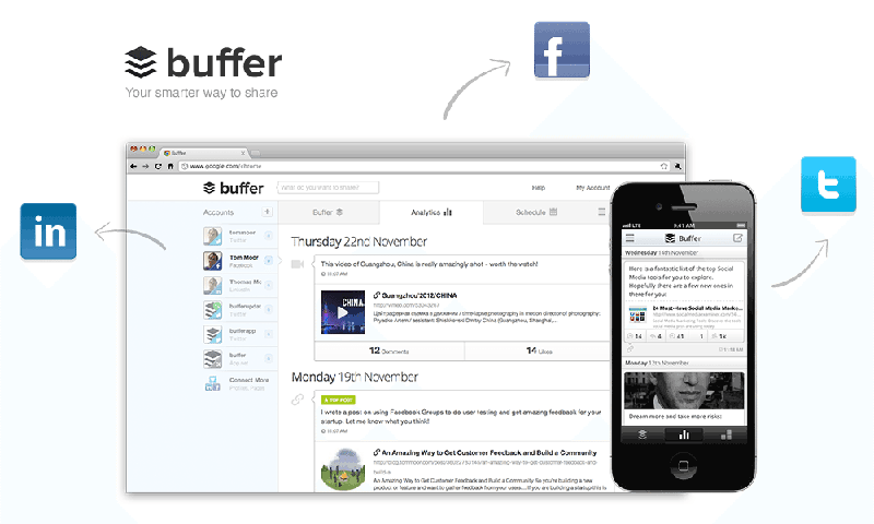 herramientas de marketing digital: buffer