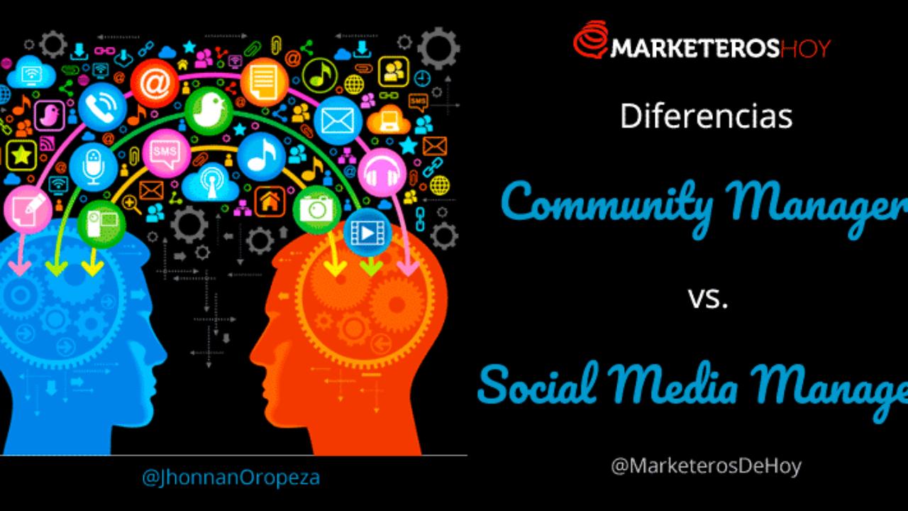 Diferencias entre Community Manager y Social Media Manager