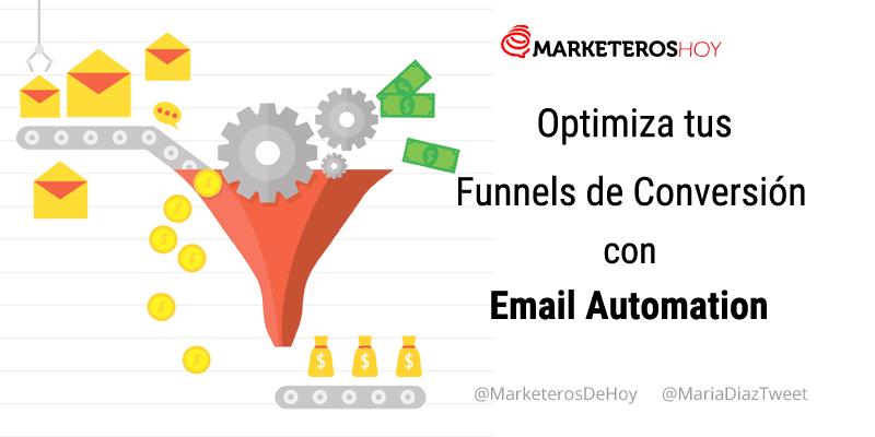 Cómo optimizar tus Funnels de Conversión con automatizaciones de Email