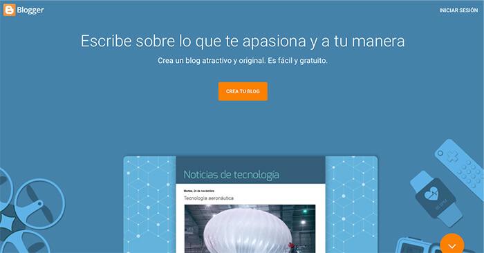 mejores plataformas de blogs gratuitas blogger
