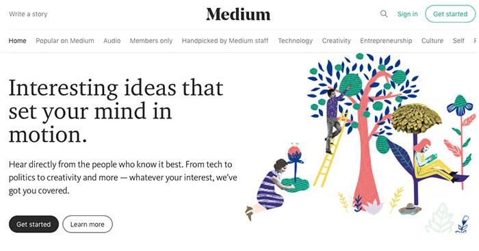 mejores plataformas de blogs gratuitas medium