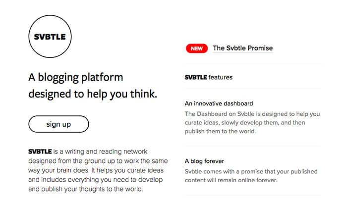 plataformas de blogs gratuitas svbtle