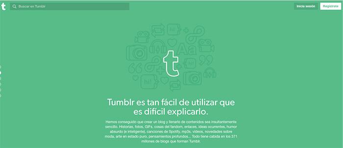 plataformas de blogs gratuitas tumblr