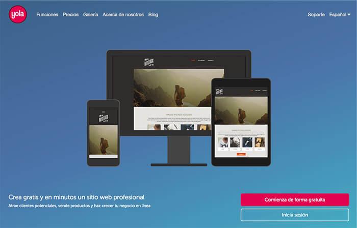plataformas de blogs gratuitas YOLA