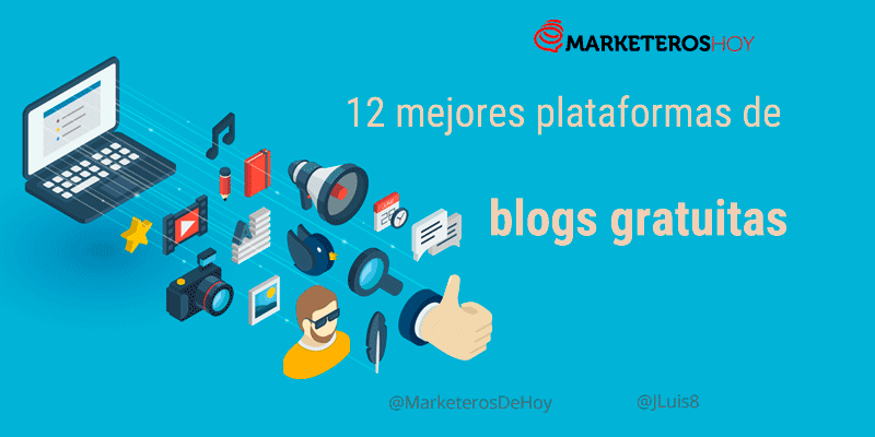 ¿Cómo crear un blog gratis? ¡12 Plataformas gratuitas!