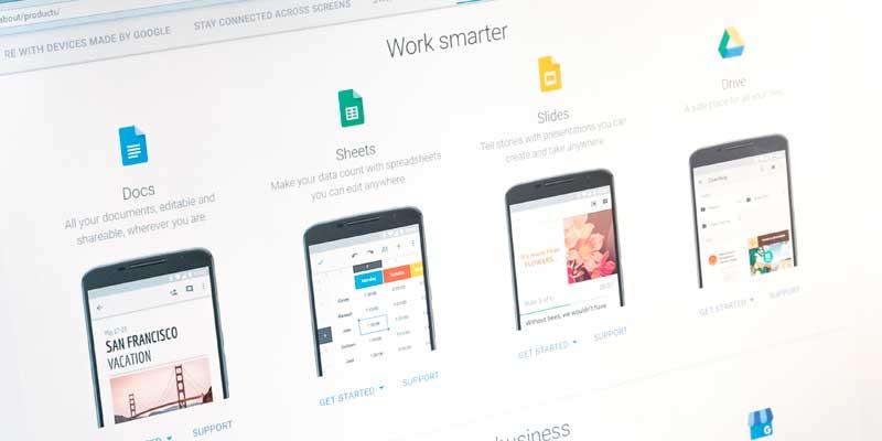 Google Apps para el trabajo