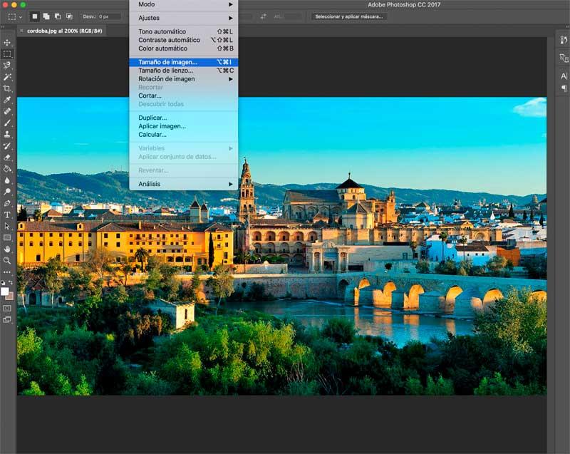 Ajustar el tamaño de las imágenes al tamaño exacto necesario en la web