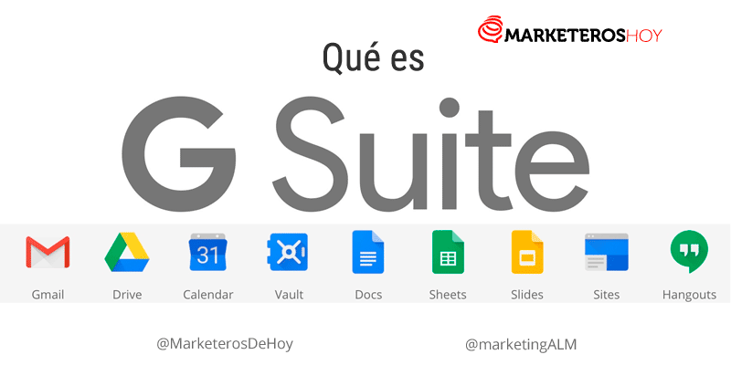 Qué es G Suite y Google Apps