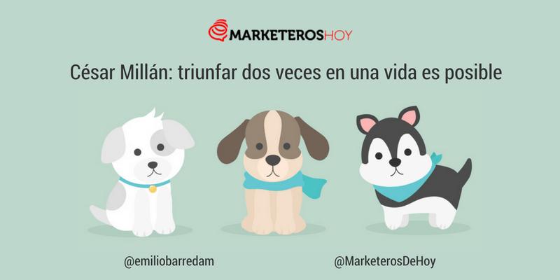 """La Historia de César Millán, emprendedor y """"Encantador de perros"""""""