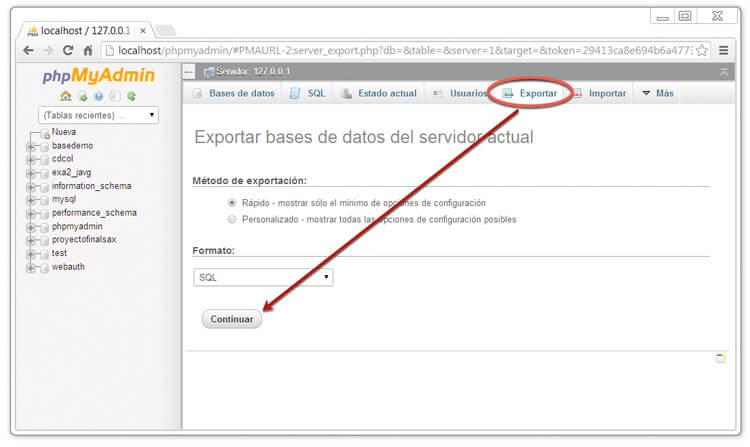 exportar-db-phpmyadmin