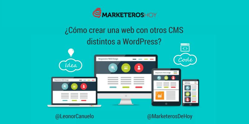 ¿Sabías que existen otros CMS para crear páginas web? (Hay vida más allá de WordPress)