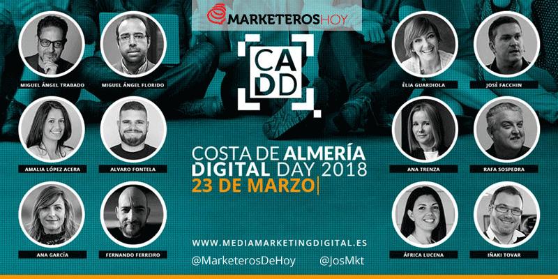 """Llega """"Costa de Almería Digital Day"""" el primer evento de Marketing Digital en la ciudad de Almería"""