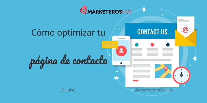 ¿Cómo optimizar la pagina de contacto de tu sitio web?