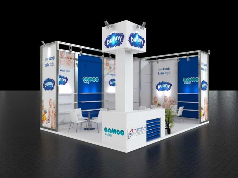 Consejos de diseño de stand de exposición: Maximize el espacio