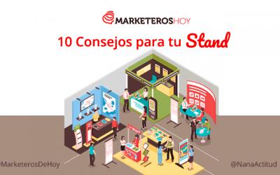 10 Consejos de diseño de stand de exposición
