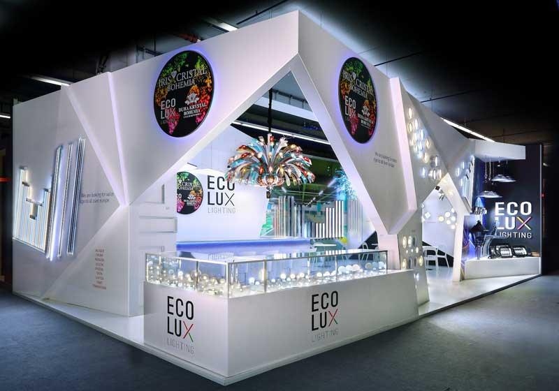 Consejos de diseño de stand de exposición:iluminación