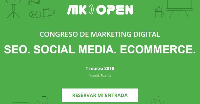 CONGRESO DE MARKETING DIGITAL mkopen 2018