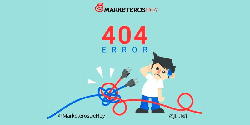 Error 404 : qué es y cómo optimizar para conseguir conversiones