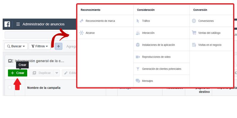 Guía Facebook Ads-Cómo crear una campaña en Facebook Ads