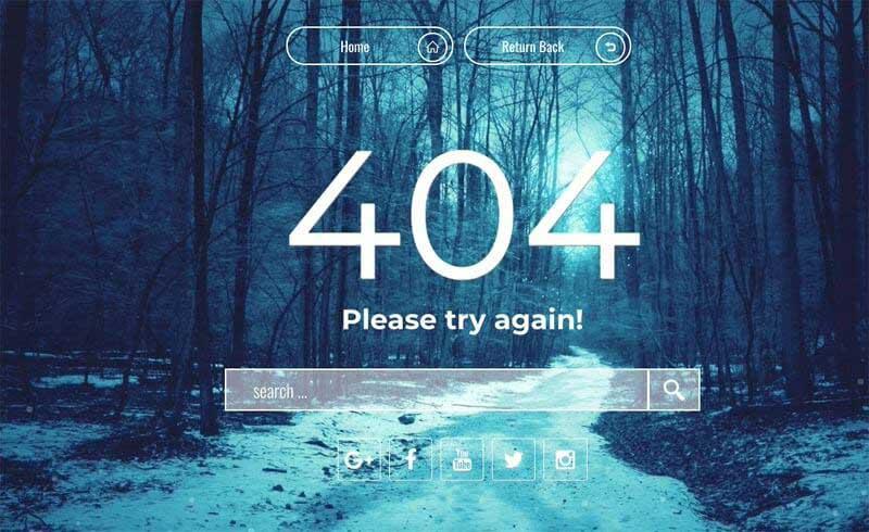 pagina error 404 dinamica