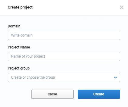 serpstat: como crear proyecto