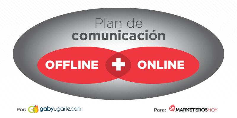 plan de comunicacion offline y online