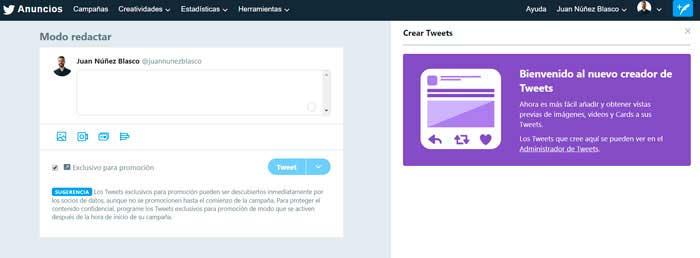 Guia Twitter Ads: Creatividades