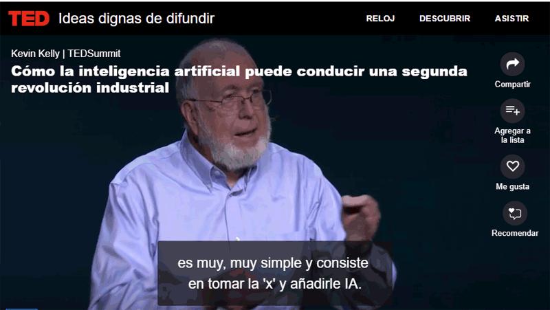 """""""Como la Inteligencia Artificial conducirá a una Segunda Revolución industrial."""""""