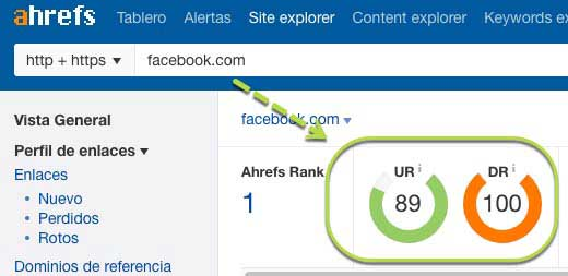 autoridad dominio backlink