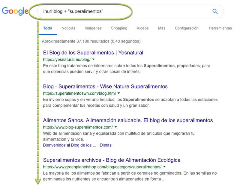 footprints para backlinks