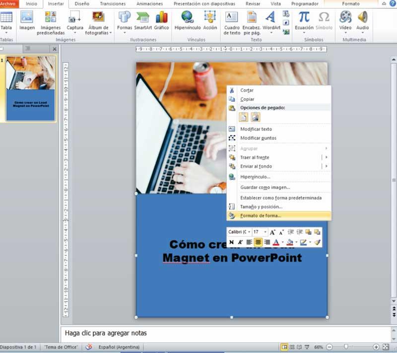 Cómo crear un Lead Magnet con PowerPoint 08
